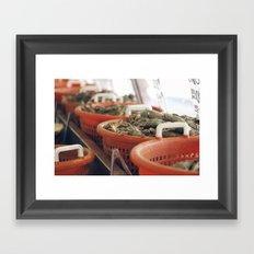 italian market Framed Art Print