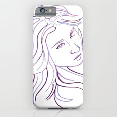 Purple Portrait iPhone 6 Slim Case