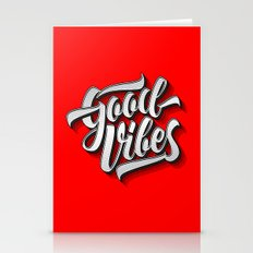 Good Vibes 2016 Stationery Cards