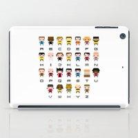 Pixel Star Trek Alphabet iPad Case
