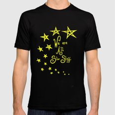We Are All Star Stuff Mens Fitted Tee Black SMALL