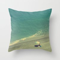Lady On The Italian Rivi… Throw Pillow