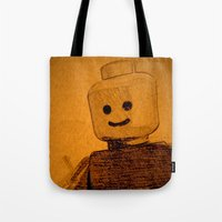 Old Lego Tote Bag