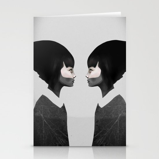 A Reflection Stationery Card