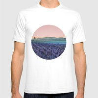 Land Of The Free Mens Fitted Tee White SMALL