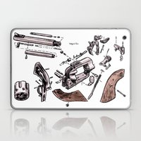 Exploded Gun Laptop & iPad Skin