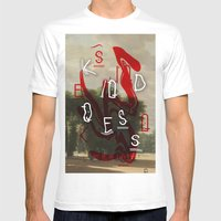 Kindness Mens Fitted Tee White SMALL