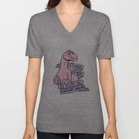 Chaos is what killed the dinosaurs, darling Unisex V-Neck