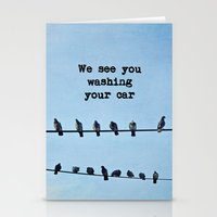 When Pigeons Plan... Stationery Cards