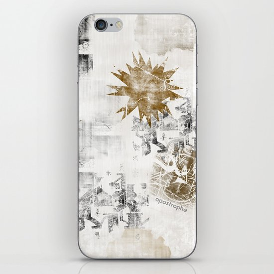 Sandy FLOW iPhone & iPod Skin