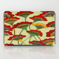 Poppies (warm) iPad Case