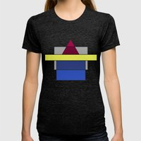 With You  Womens Fitted Tee Tri-Black SMALL