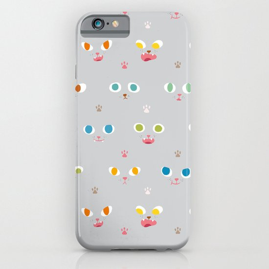 Cat Faces iPhone & iPod Case