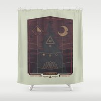 Mount Death Shower Curtain