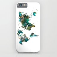 Map Of The World Tree iPhone 6 Slim Case