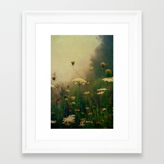 Ethereal Fog Framed Art Print