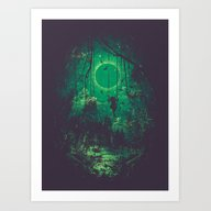 Art Print featuring The Ring by Robson Borges
