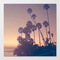Laguna beach sunset Canvas Print