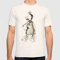 kissable Mens Fitted Tee Natural SMALL