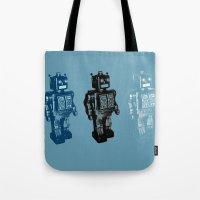 Automaton March Tote Bag