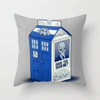 The Missing Silence Throw Pillow