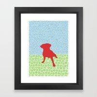 Doggy Os Framed Art Print