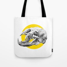 Bear Skull Tote Bag