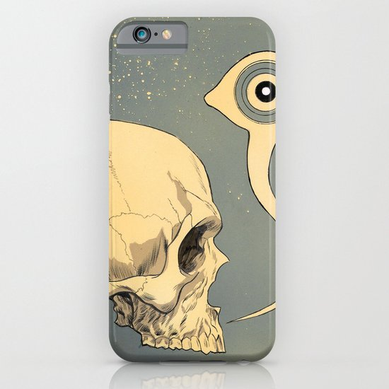 Untitled (skull) iPhone & iPod Case