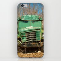 The Green Bus iPhone & iPod Skin