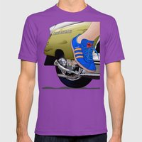Kick off in style Mens Fitted Tee Ultraviolet SMALL
