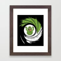 The Spud Who Slimed Me Framed Art Print