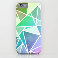 iPhone & iPod Case featuring Rainbow Fractal  by Krissy Diggs