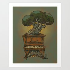 The Sweet Sound of Decay Art Print