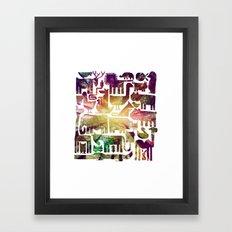 forestanimal Framed Art Print