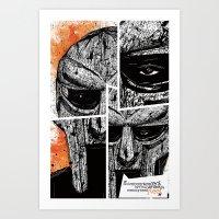 MF Doom Art Print