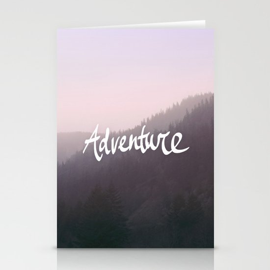 Wild Adventure Stationery Card