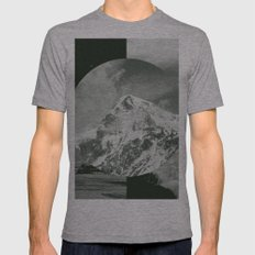 Darklands Mens Fitted Tee Athletic Grey SMALL