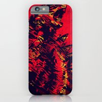 monster iPhone & iPod Cases featuring Monster by Balazs Pakozdi