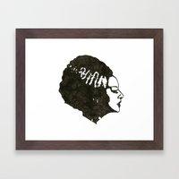 The Mrs. Framed Art Print