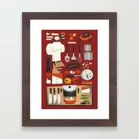 Italian Kitchen Framed Art Print