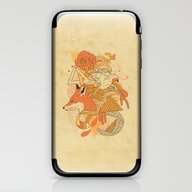 iPhone & iPod Skin featuring Nature's Embrace by The Child