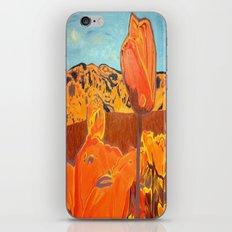 Orange Terrain iPhone & iPod Skin