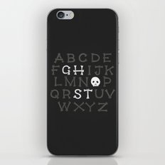 Somethin' strange in your alphabet iPhone & iPod Skin