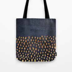 Pattern Play / Navy & Go… Tote Bag
