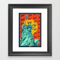 (us) Framed Art Print