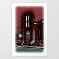 Holy Art Print