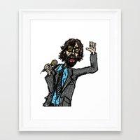 Jarvis Cocker Pulp 2 Framed Art Print
