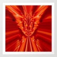 The Red Fox King Art Print