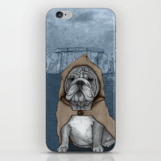 English Bulldog in Stonehenge iPhone & iPod Skin