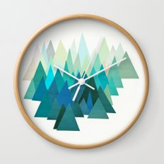 Cold Mountain Wall Clock